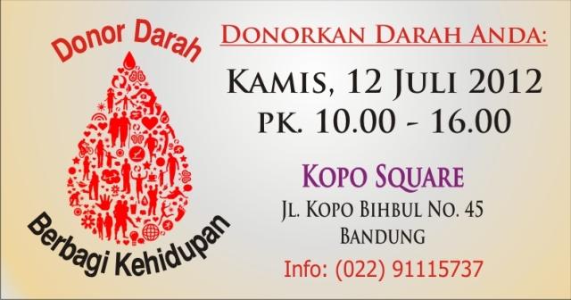 Donor Darah @Kopo Square Bandung