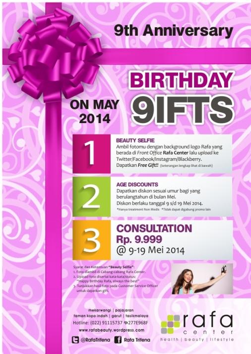 Birthday Promo Rafa Center