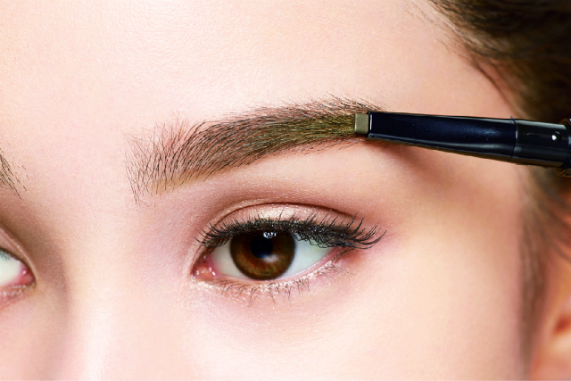 B Eyebrow pencil gel powder for all types of eyebrow shapes and thickness