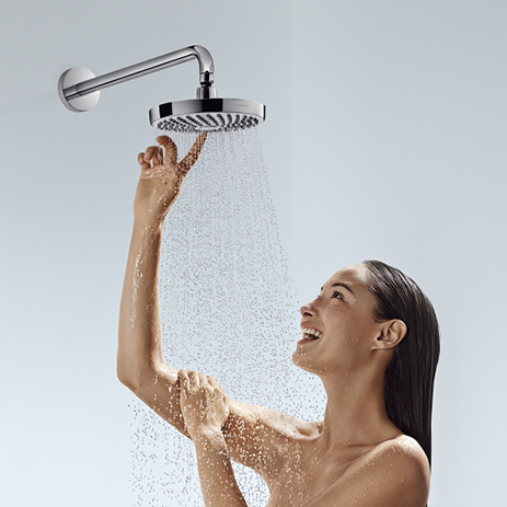 hg_croma-select_overhead-shower_with-woman_463x463