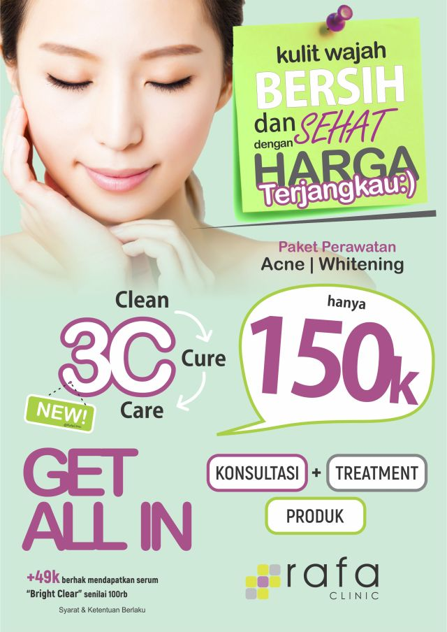 Promo Paket Treatment 150rb fix